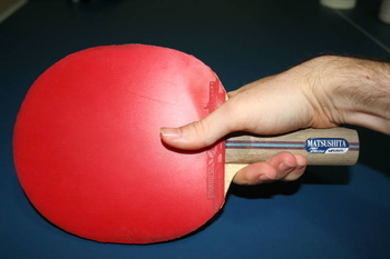 Table Tennis Grip Some Good And Bad Examples