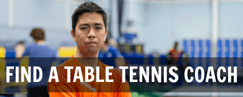 Find a Table Tennis Coach