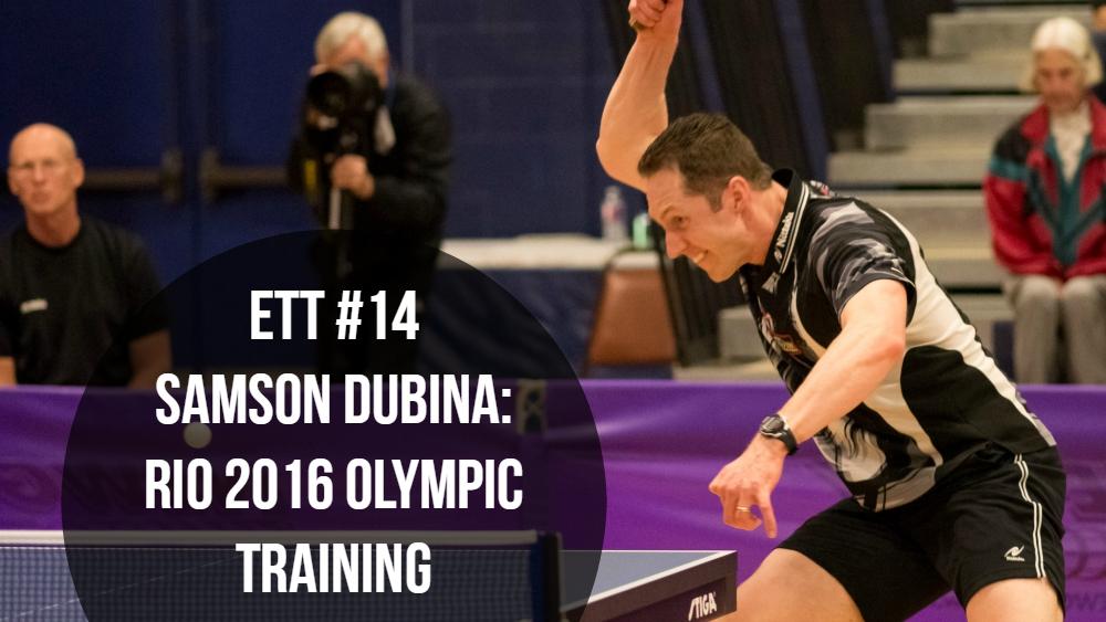#14 – Samson Dubina: Rio 2016 Olympic Training