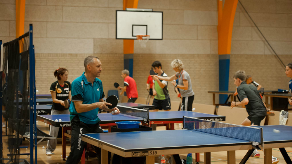 B75 Table Tennis Camp