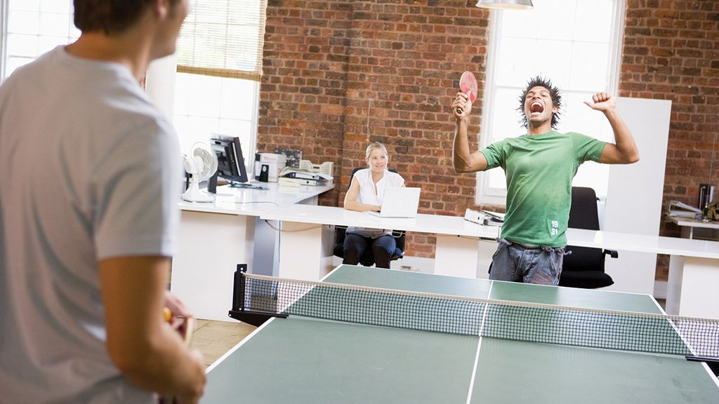 How To Beat Everyone In Your Office At Table Tennis