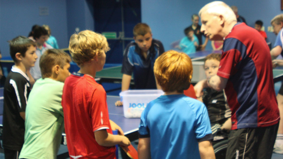 How to Start Coaching Table Tennis Beginners