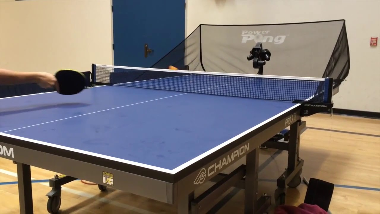 Power-Pong-3001-Table-Tennis-Robot