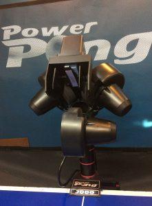 power pong table tennis robot